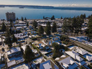 Aerial View at 2383 Jefferson Avenue, Dundarave, West Vancouver