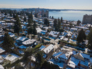Dundarave Aerial View at 2383 Jefferson Avenue, Dundarave, West Vancouver