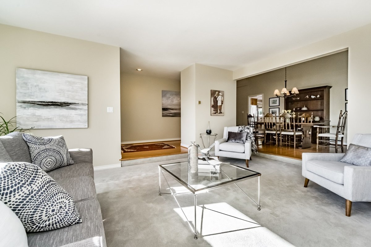 Living Room at 2383 Jefferson Avenue, Dundarave, West Vancouver