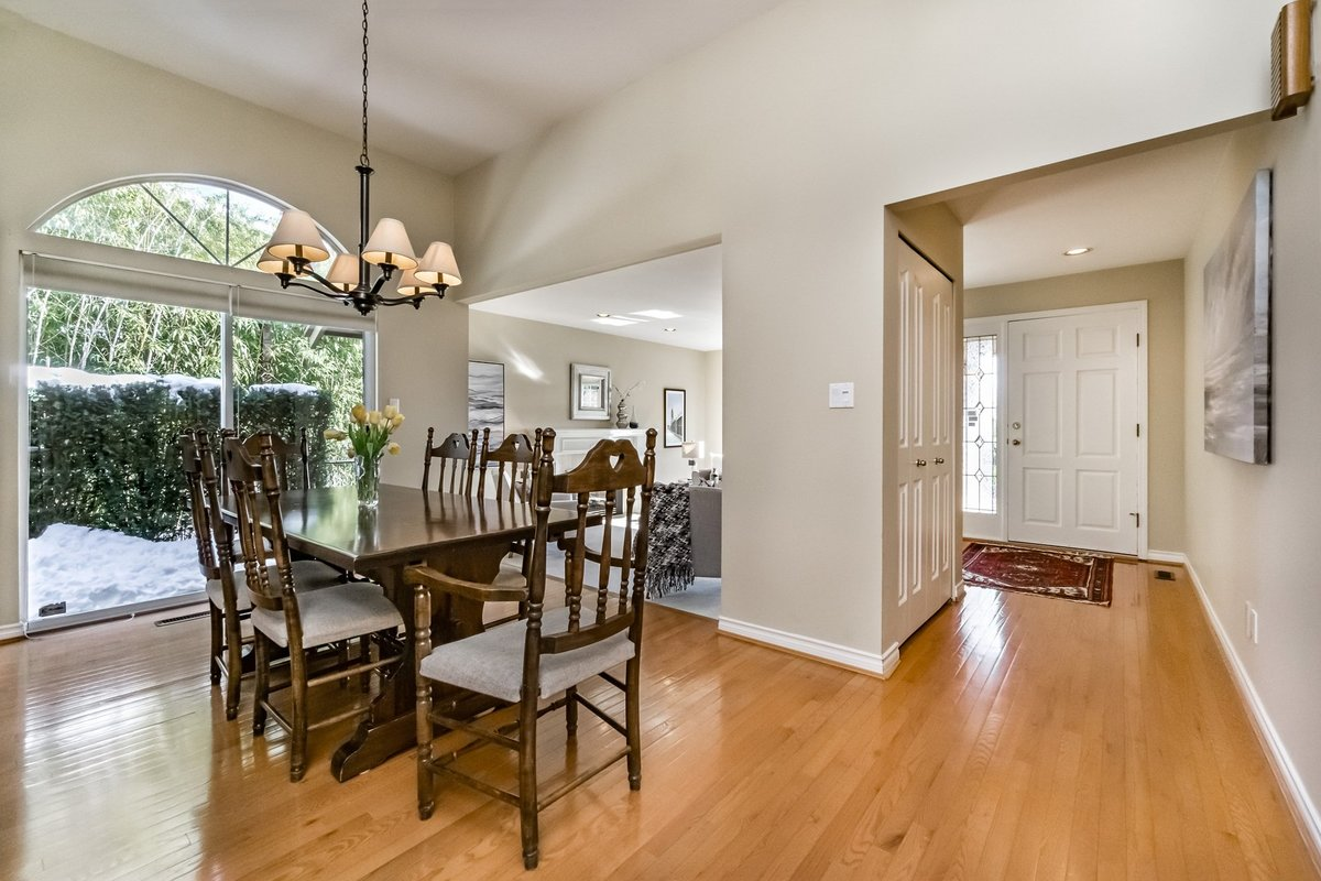 Dining Room at 2383 Jefferson Avenue, Dundarave, West Vancouver