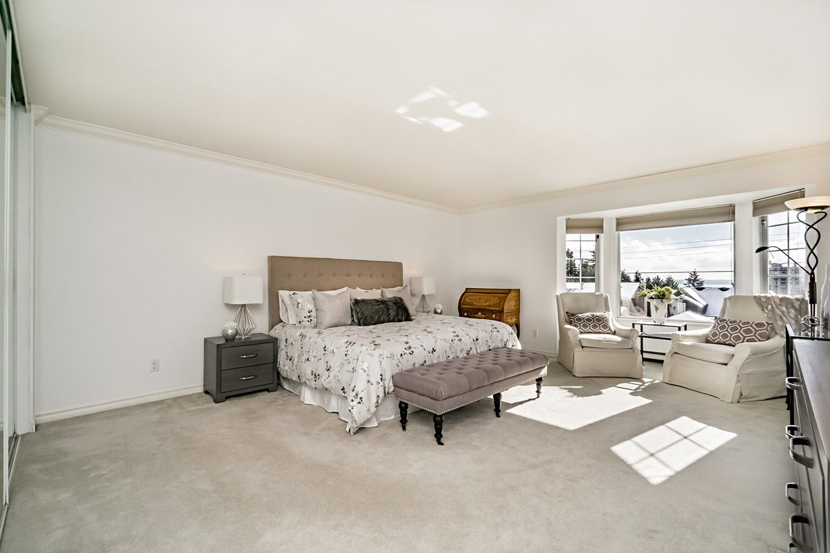 Master Bedroom at 2383 Jefferson Avenue, Dundarave, West Vancouver