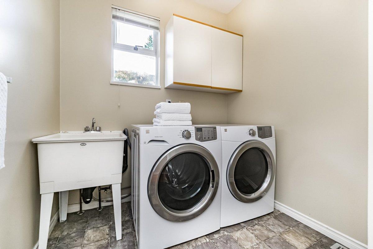 Laundry at 2383 Jefferson Avenue, Dundarave, West Vancouver