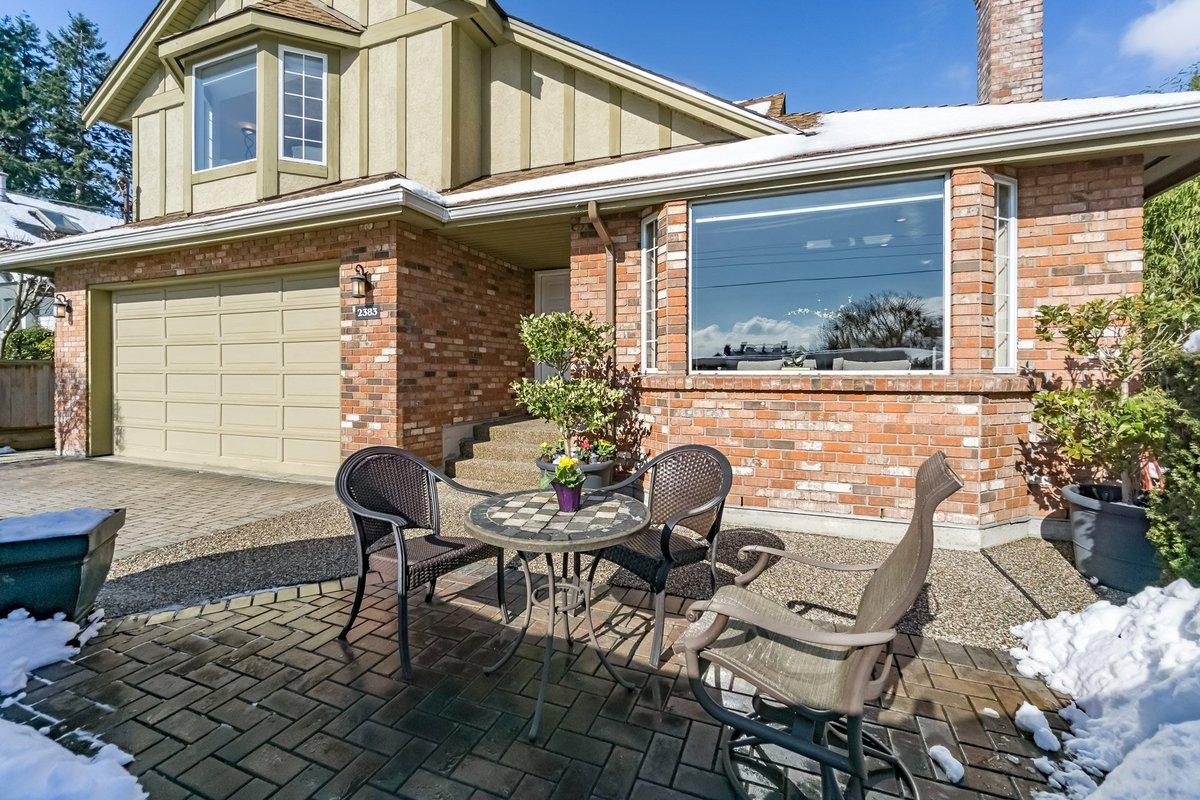 Front Patio at 2383 Jefferson Avenue, Dundarave, West Vancouver