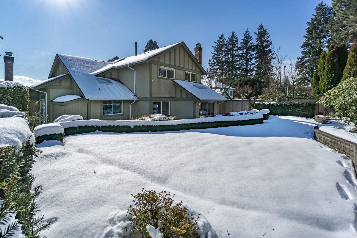 Backyard at 2383 Jefferson Avenue, Dundarave, West Vancouver