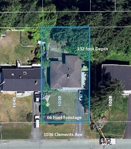 lot-map-1036-clements at 1036 Clements, Canyon Heights NV, North Vancouver