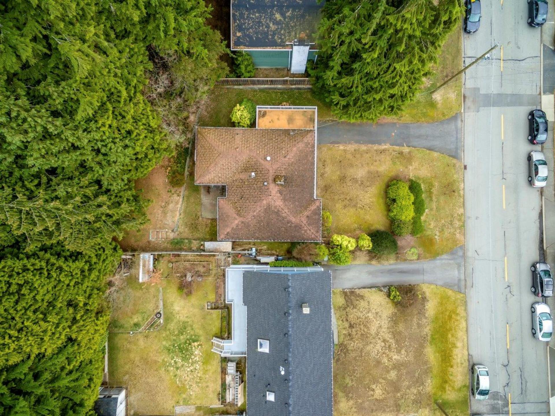 aerial-1 at 1036 Clements, Canyon Heights NV, North Vancouver