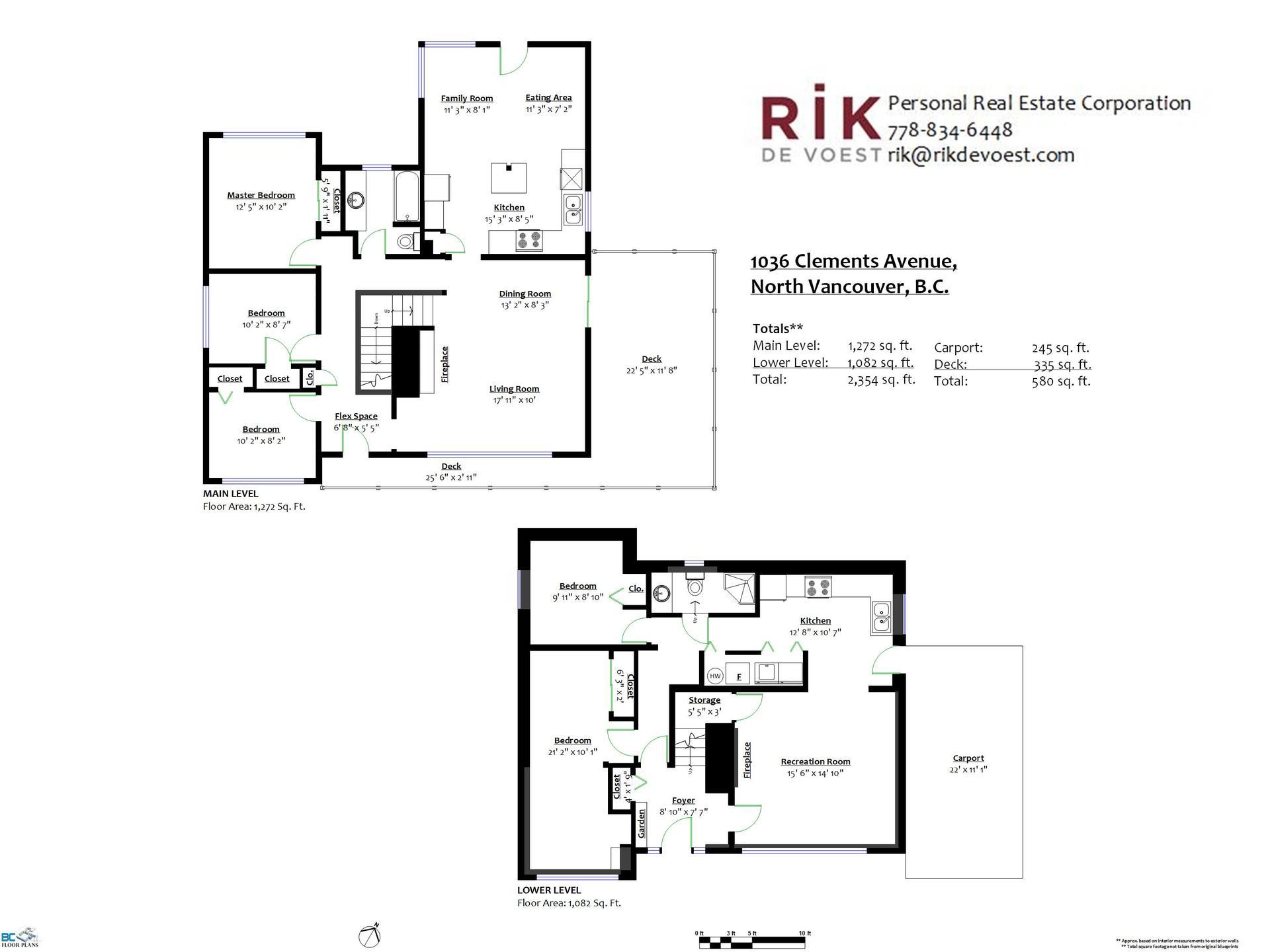 floorplan-1036-clements-avenue-north-vancouver-branded at 1036 Clements, Canyon Heights NV, North Vancouver
