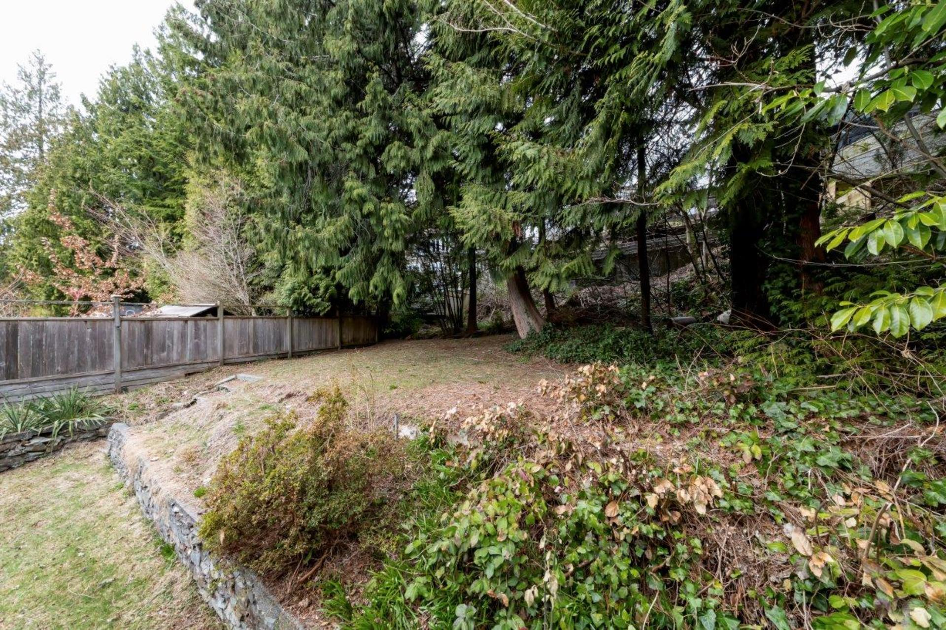 rear-yard2 at 1036 Clements, Canyon Heights NV, North Vancouver