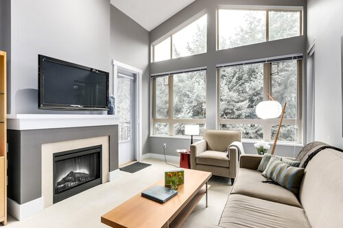living-room at 1111 E 27th, North Vancouver