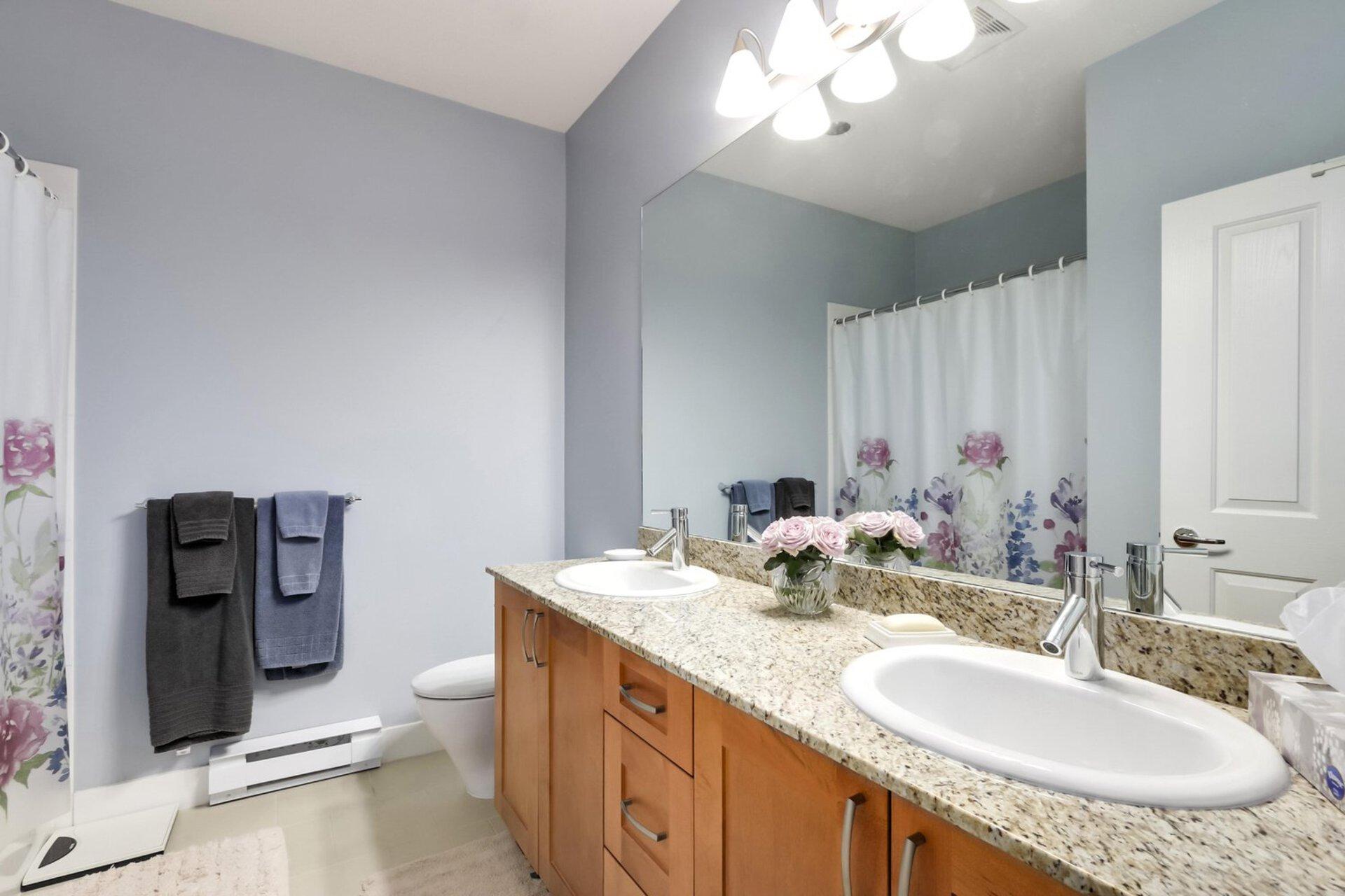 bathroom at 1111 E 27th, North Vancouver