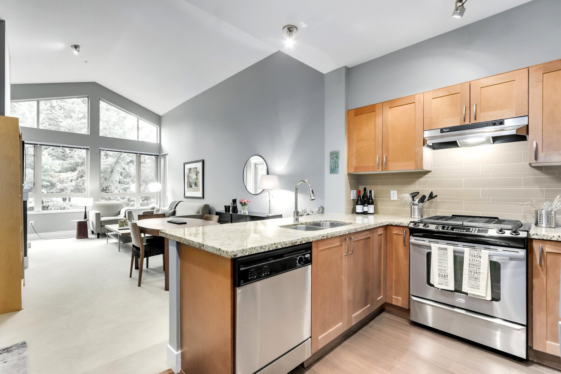 kitchen at 1111 E 27th, North Vancouver