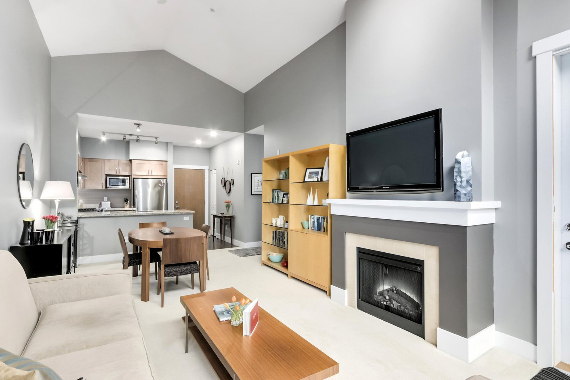livingroom at 1111 E 27th, North Vancouver