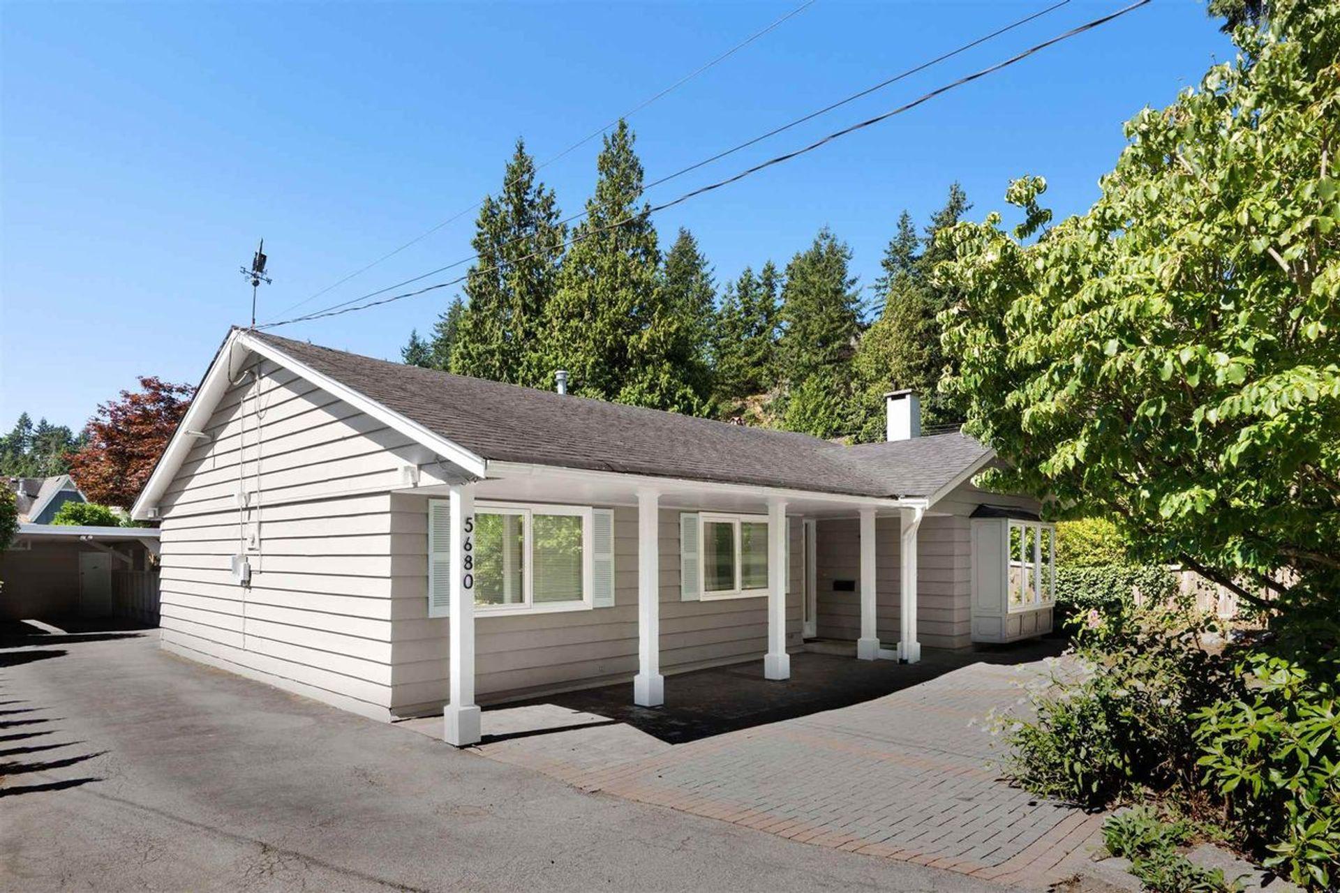 5680 Marine Drive, Eagle Harbour, West Vancouver