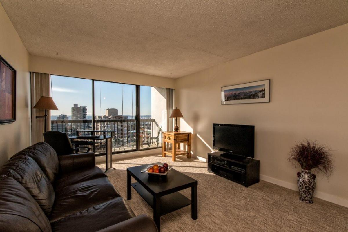 Living Room at 803 - 1515 Eastern Avenue, Central Lonsdale, North Vancouver