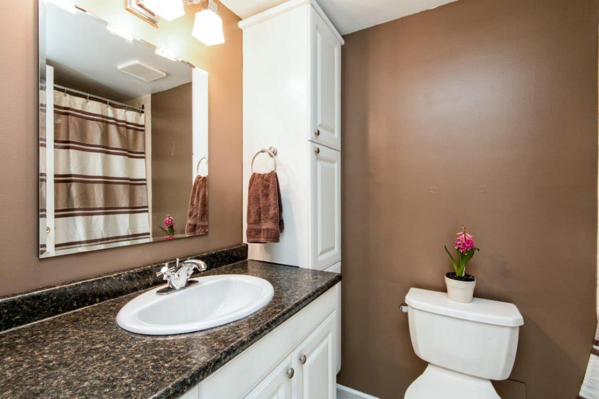 Bathroom at 803 - 1515 Eastern Avenue, Central Lonsdale, North Vancouver