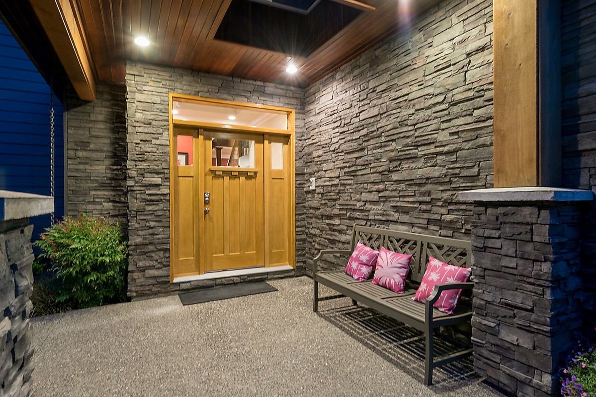 Entrance at 4102 Burkehill Road, West Vancouver