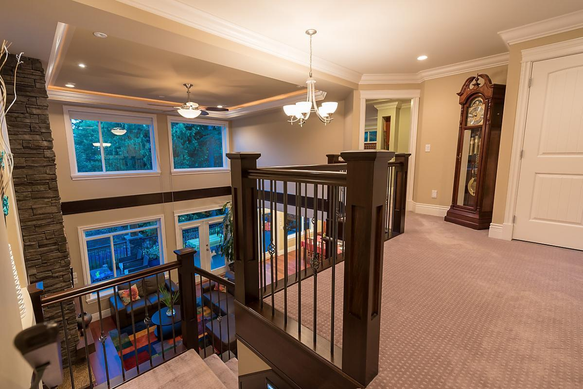 Staircase at 4102 Burkehill Road, West Vancouver