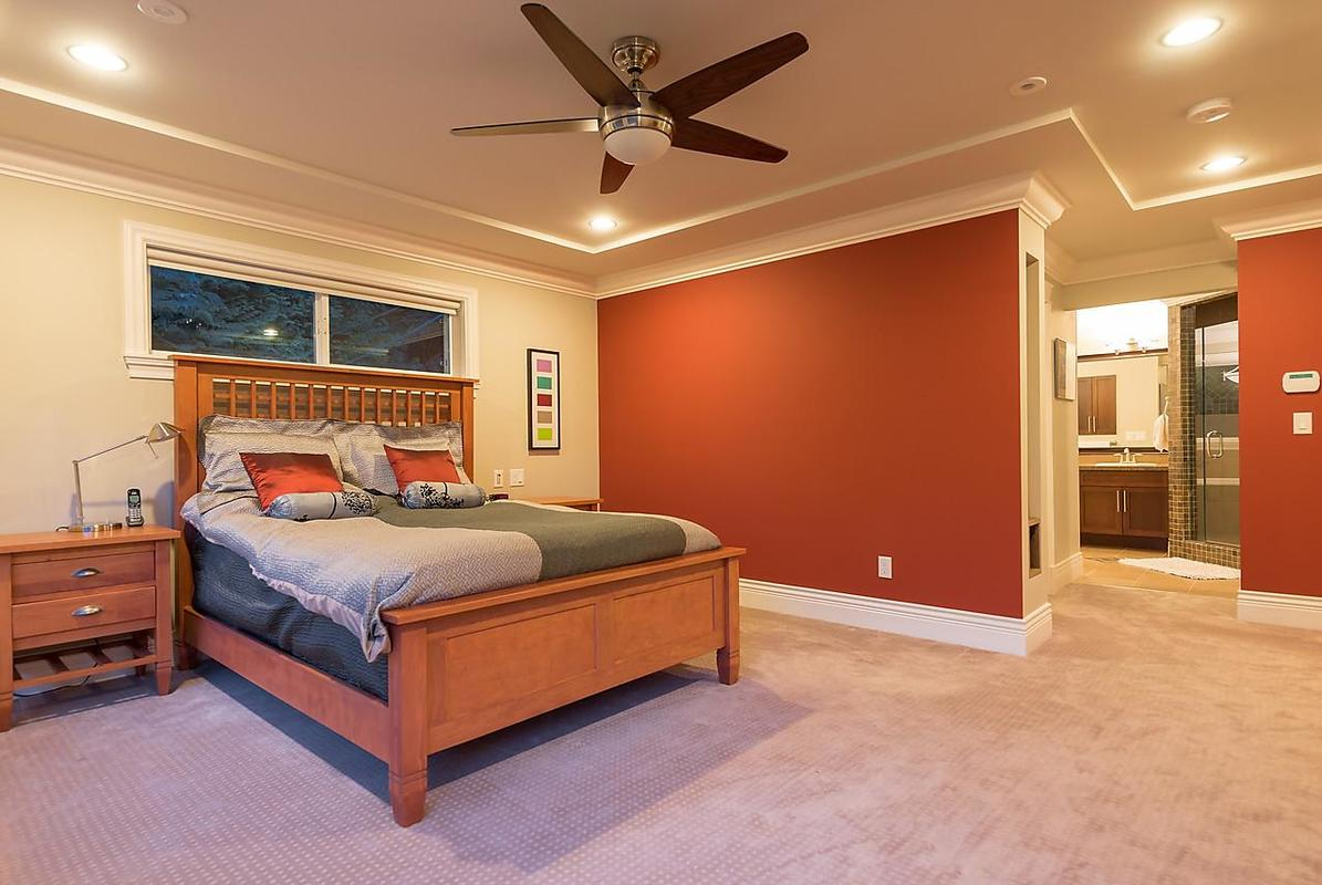 Master Bedroom at 4102 Burkehill Road, West Vancouver
