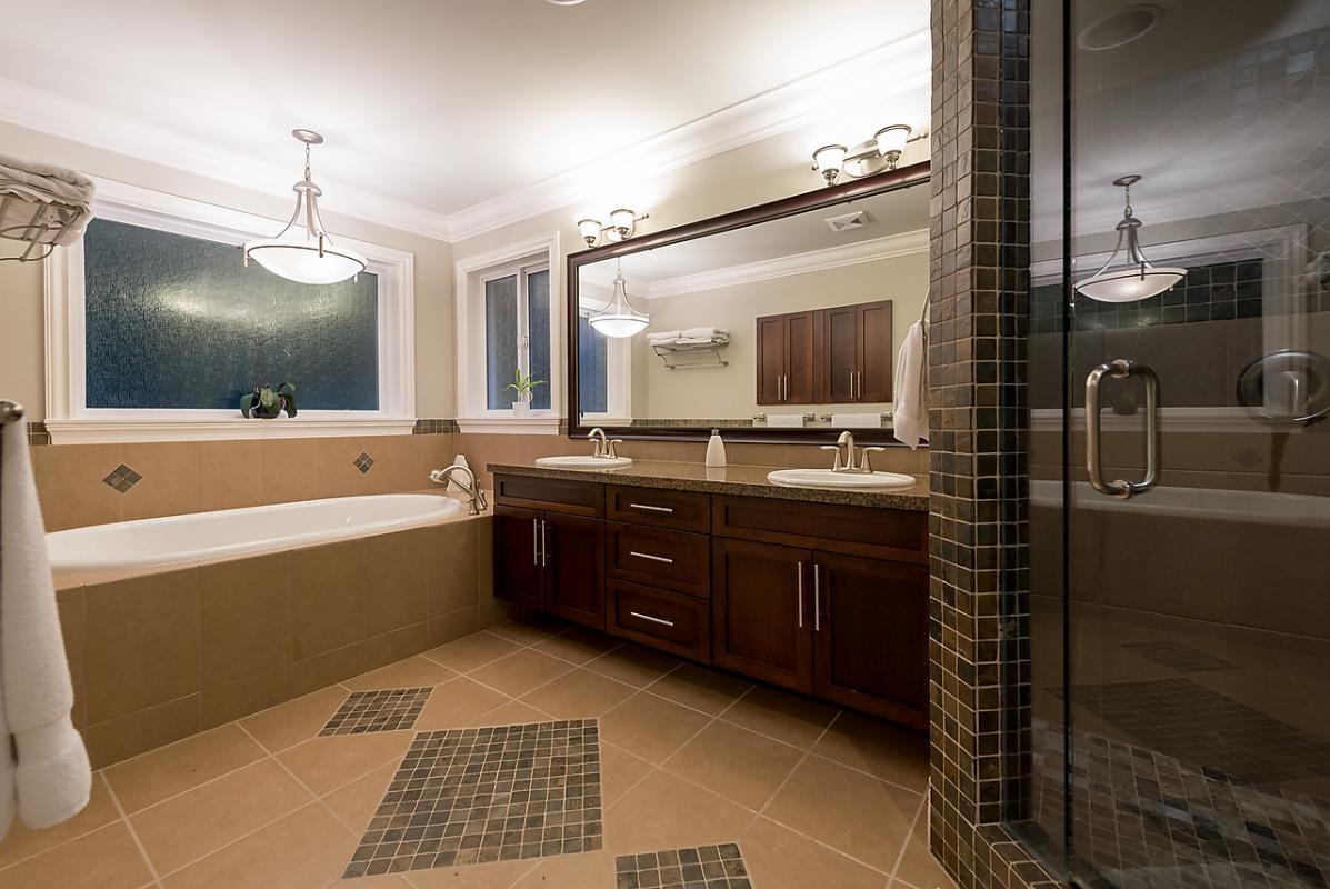 Master Bathroom at 4102 Burkehill Road, West Vancouver