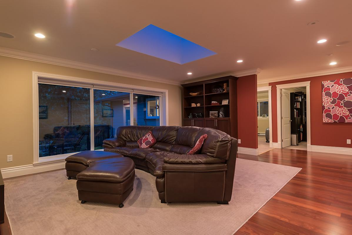 Living Room at 4102 Burkehill Road, West Vancouver