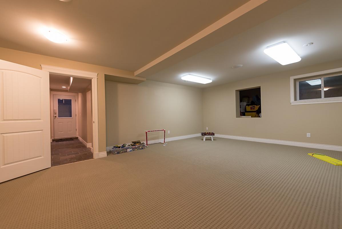 Rec room at 4102 Burkehill Road, West Vancouver