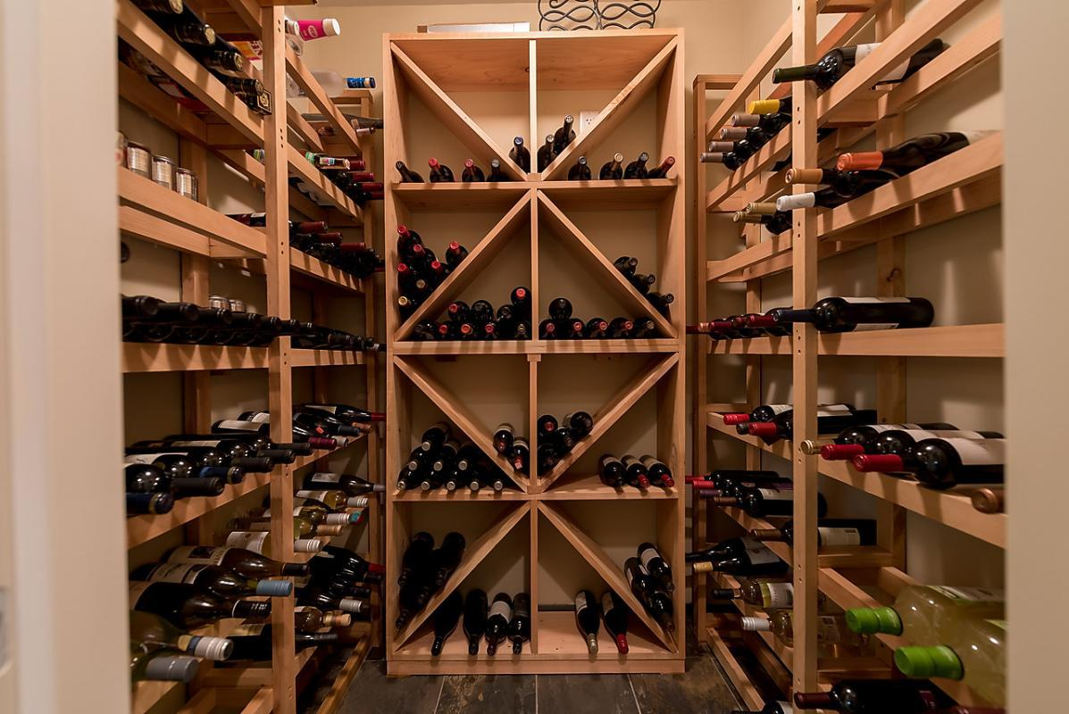 Wine Room at 4102 Burkehill Road, West Vancouver