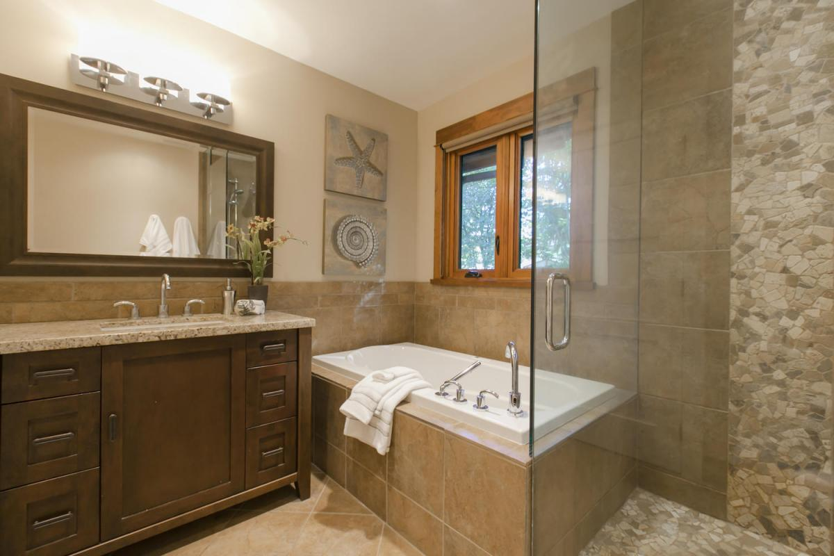 Bathroom at 4005 Brockton Crescent, Crescent, Indian River, North Vancouver
