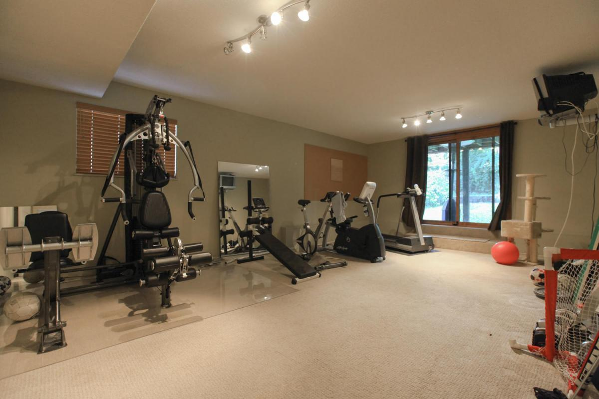 Rec room at 4005 Brockton Crescent, Crescent, Indian River, North Vancouver