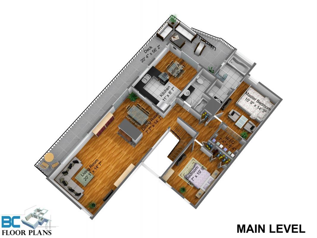 MAIN-LEVEL-DIM-4 at 4239 Dollar Road, Dollarton, North Vancouver