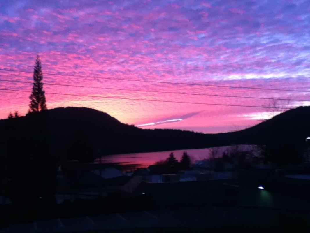 Sunrise at 4239 Dollar Road, Dollarton, North Vancouver