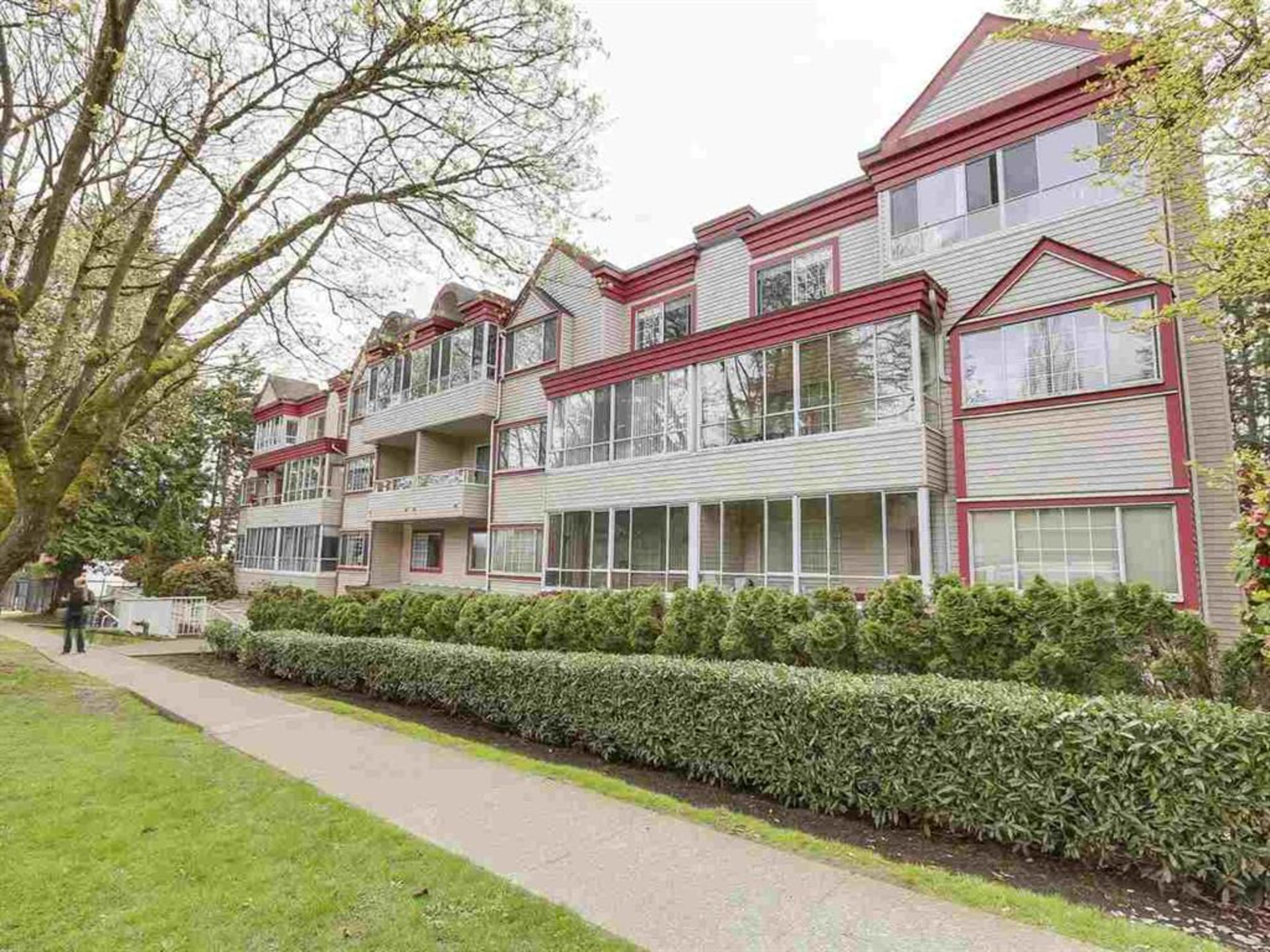 Exterior Building View at 108 - 1386 73, Marpole, Vancouver West