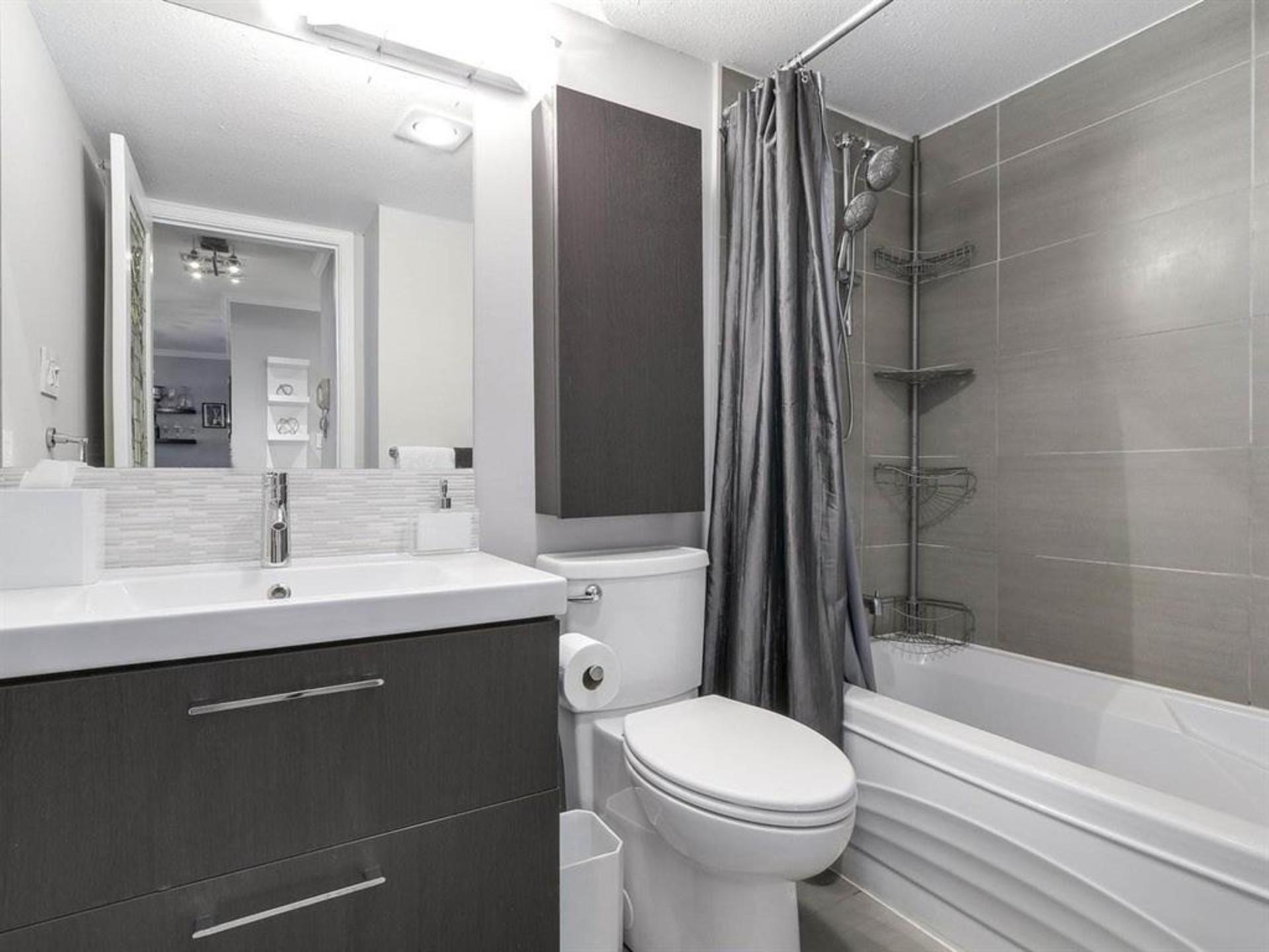 Bathroom - beautifully updated at 108 - 1386 73, Marpole, Vancouver West