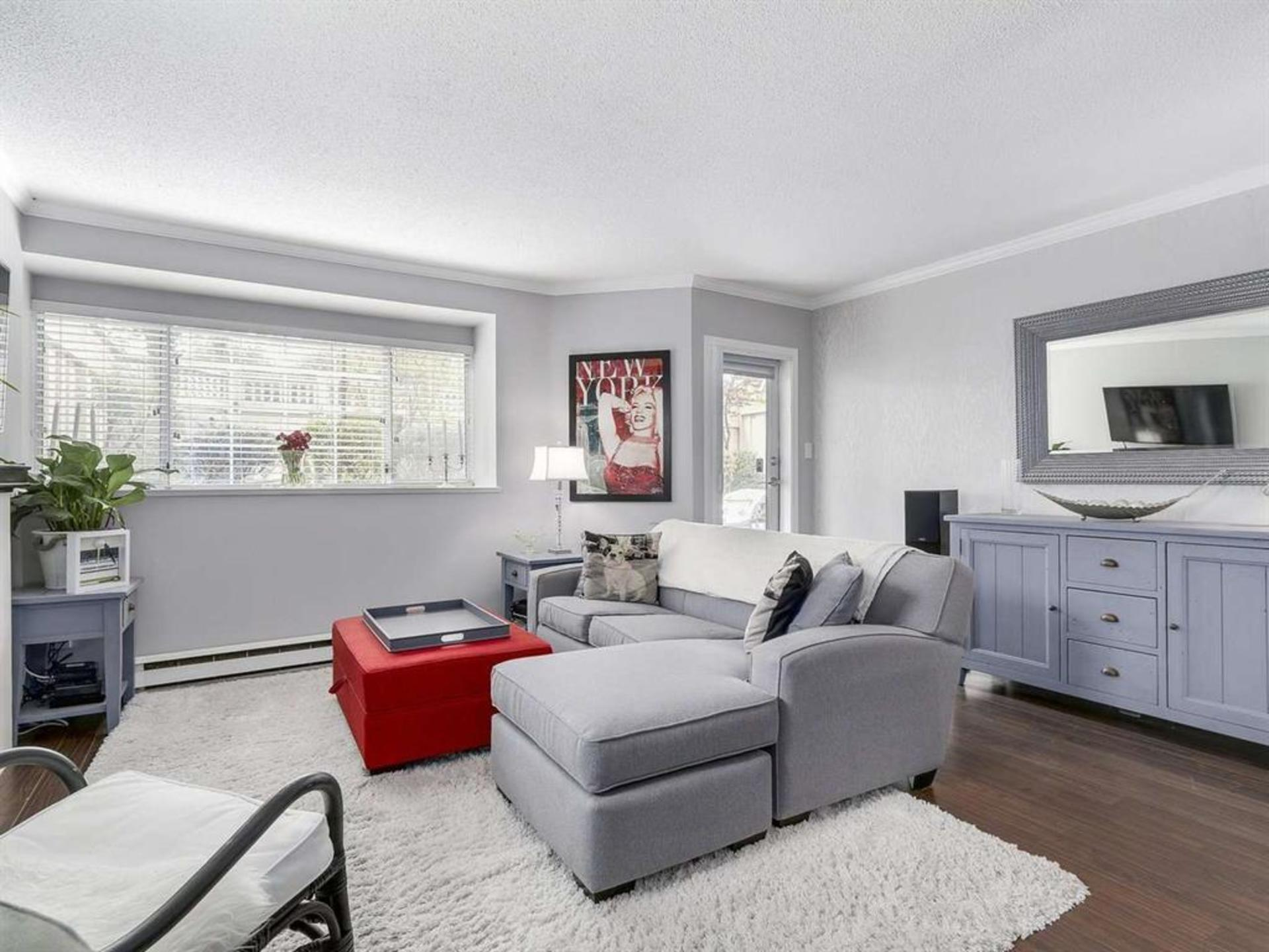 View towards patio at 108 - 1386 73, Marpole, Vancouver West