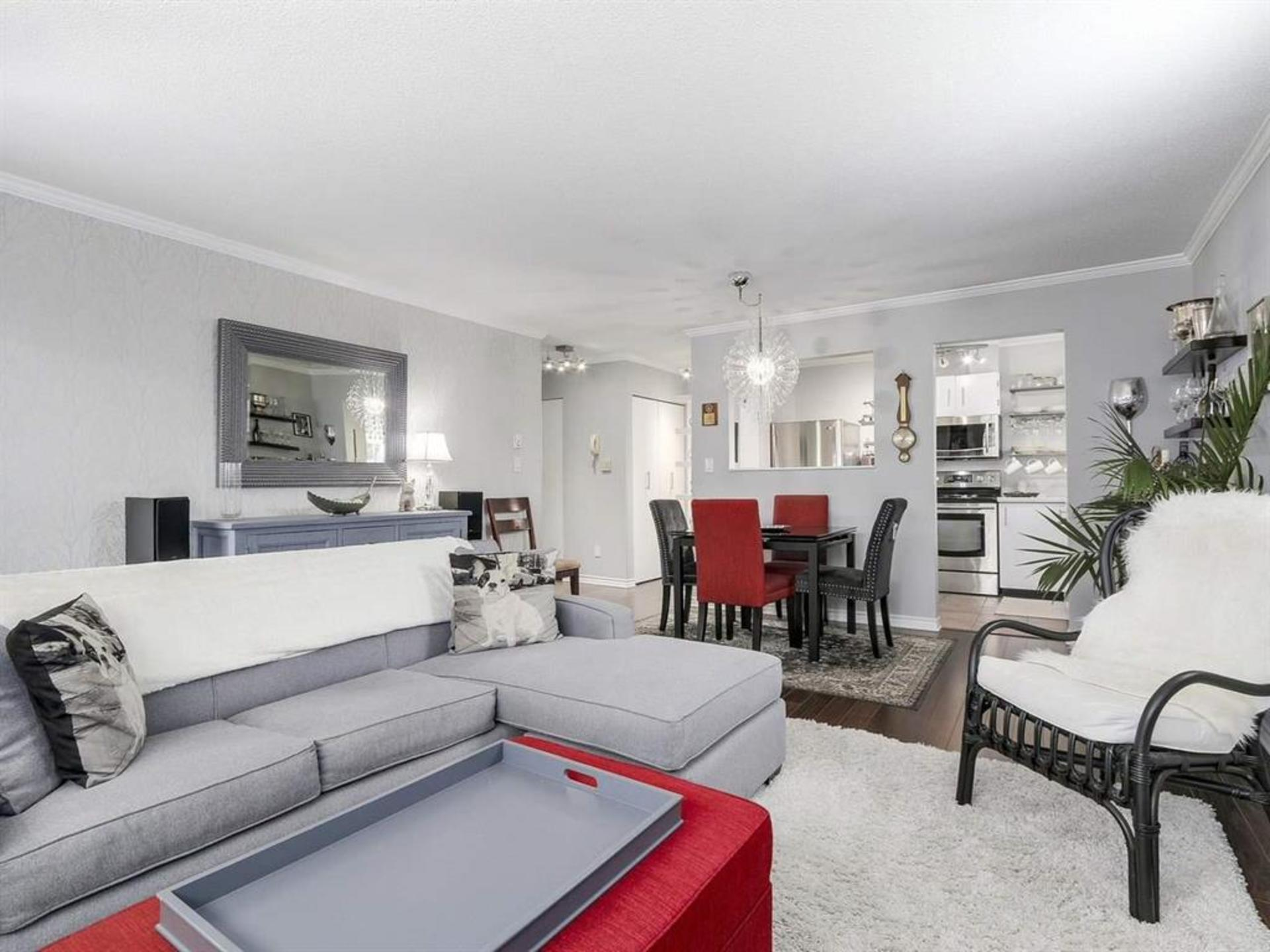 Open living space at 108 - 1386 73, Marpole, Vancouver West