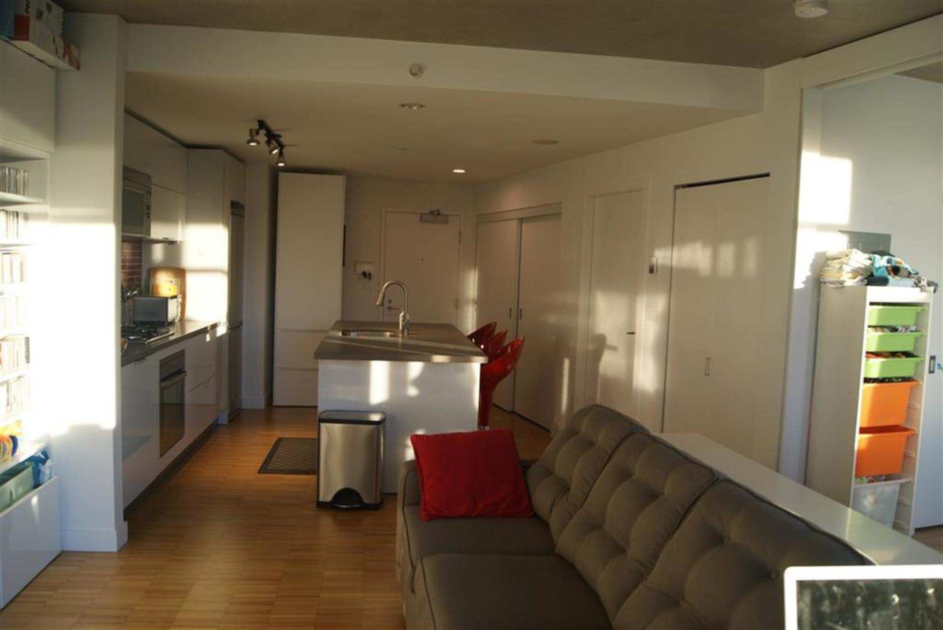 Living/Kitchen at 1906 - 108 West Cordova, Downtown VW, Vancouver West