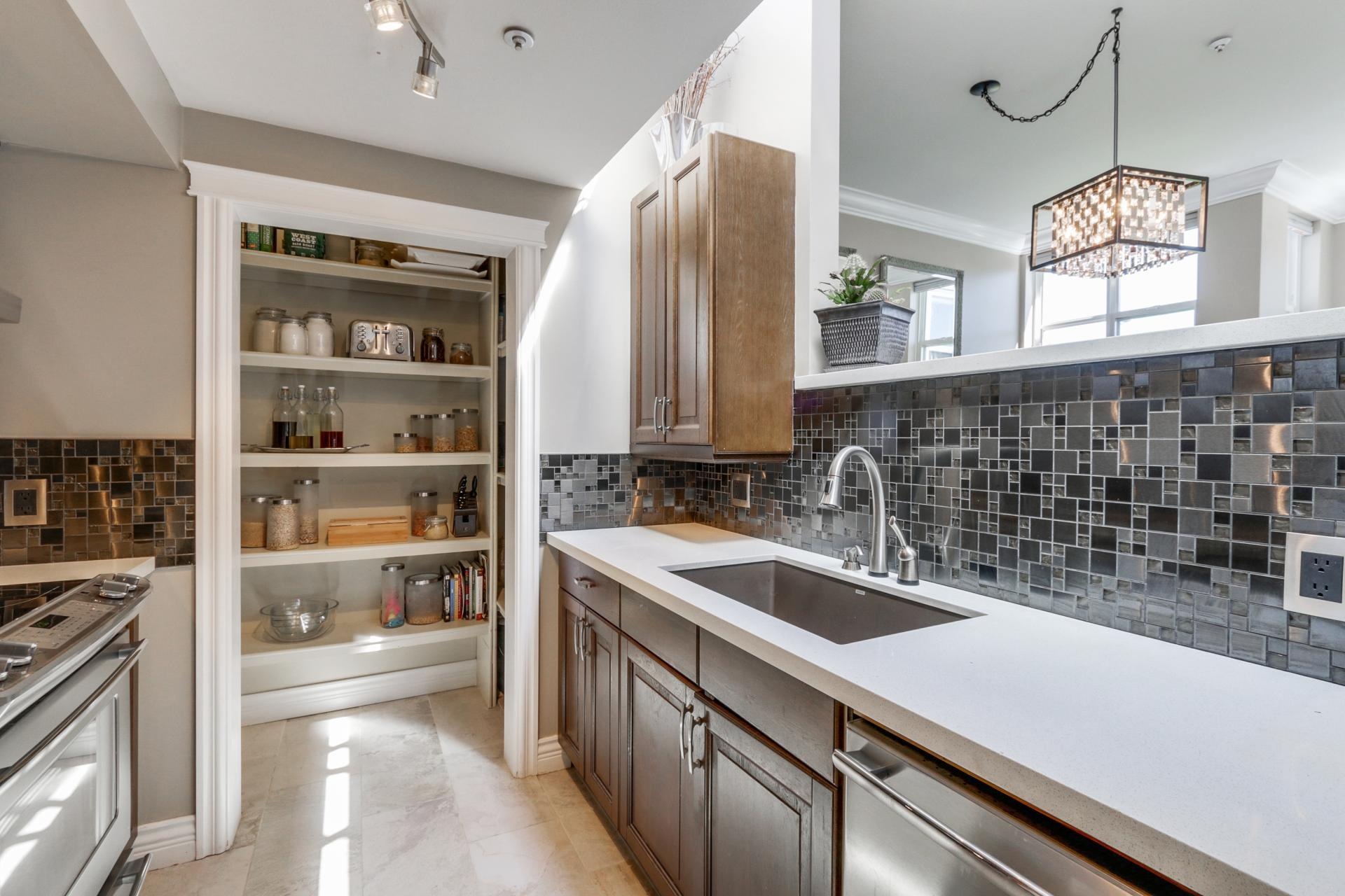 Pantry Area at 205 - 669 West 7th Avenue, Fairview VW, Vancouver West