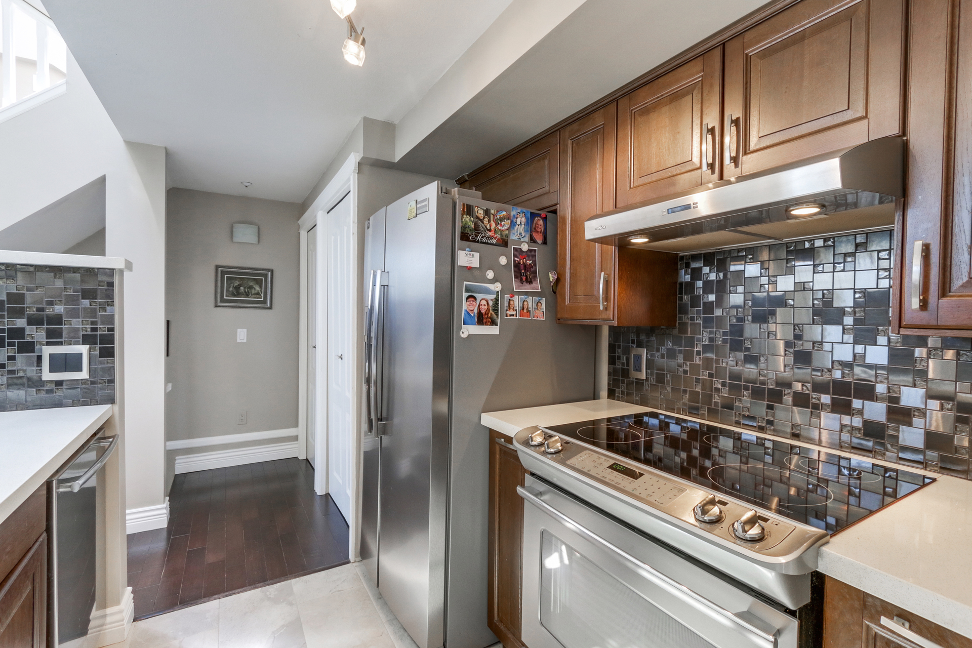 Kitchen at 205 - 669 West 7th Avenue, Fairview VW, Vancouver West