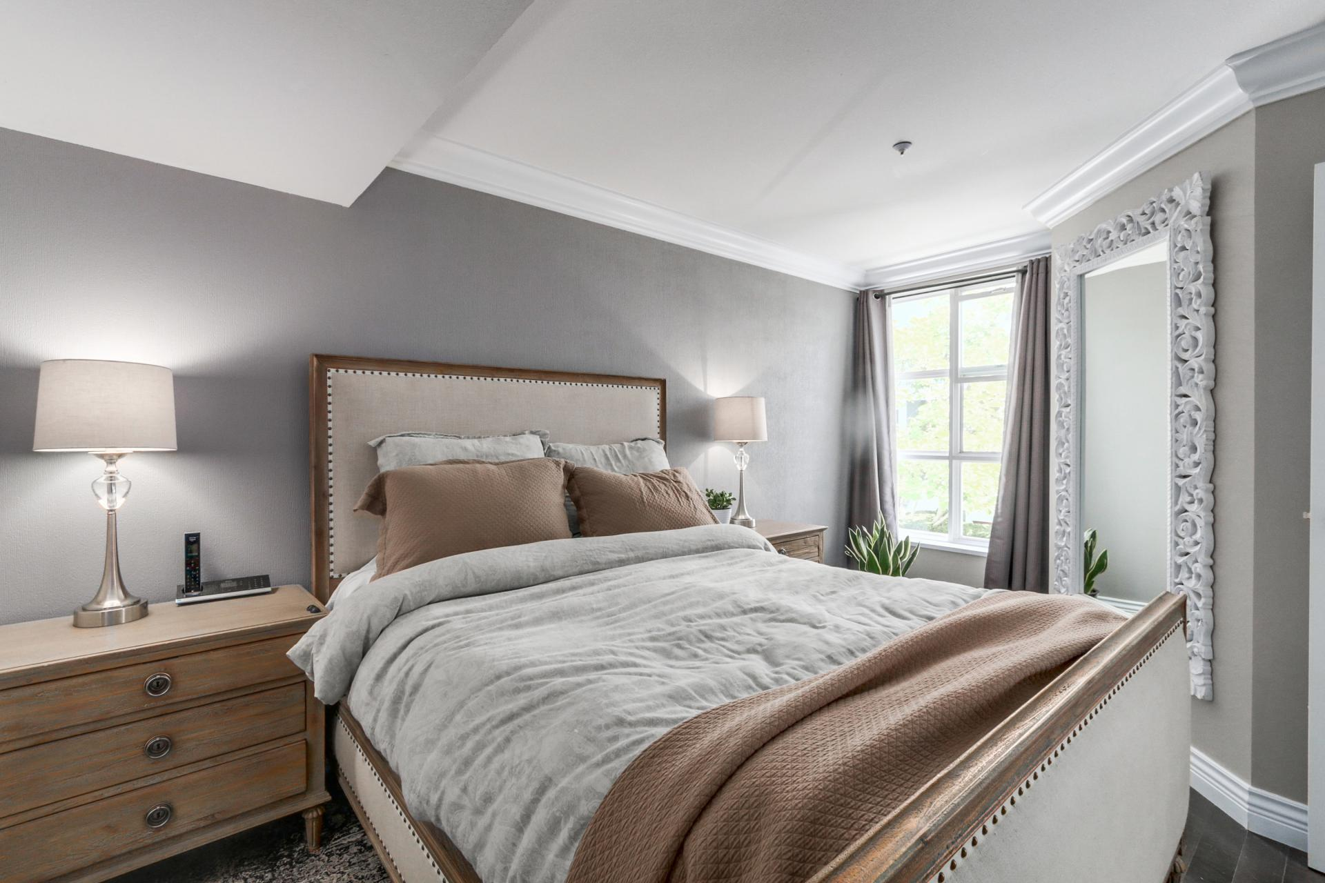 Master Bedroom at 205 - 669 West 7th Avenue, Fairview VW, Vancouver West