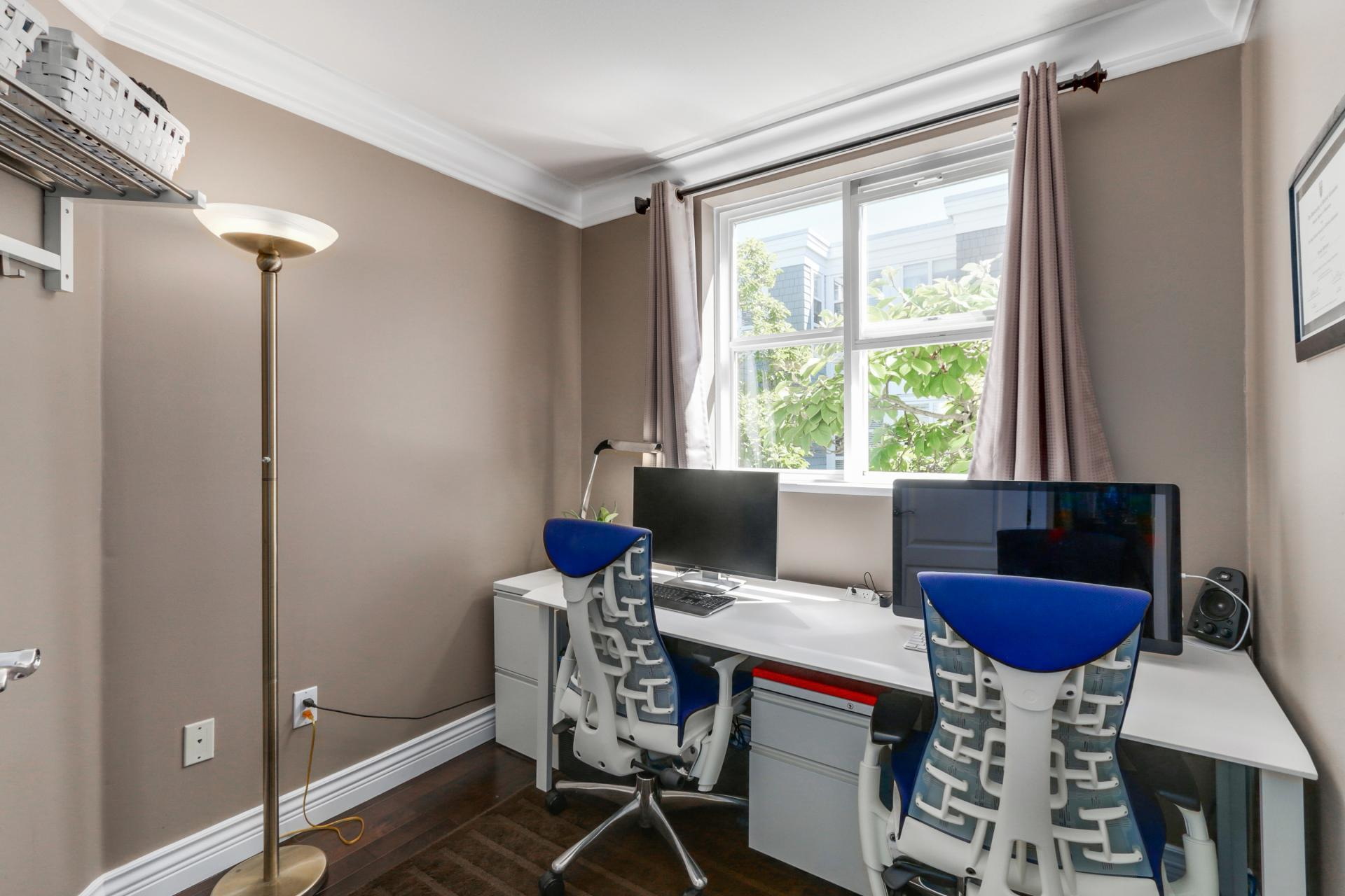 Den/Office/sm 2nd Bedroom at 205 - 669 West 7th Avenue, Fairview VW, Vancouver West