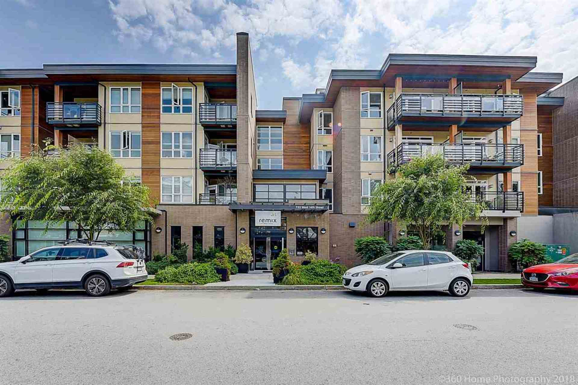 314 - 733 W 14th Street, Mosquito Creek, North Vancouver
