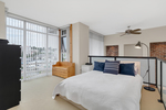 Bedroom at 422 - 10 Renaissance Square, Quay, New Westminster