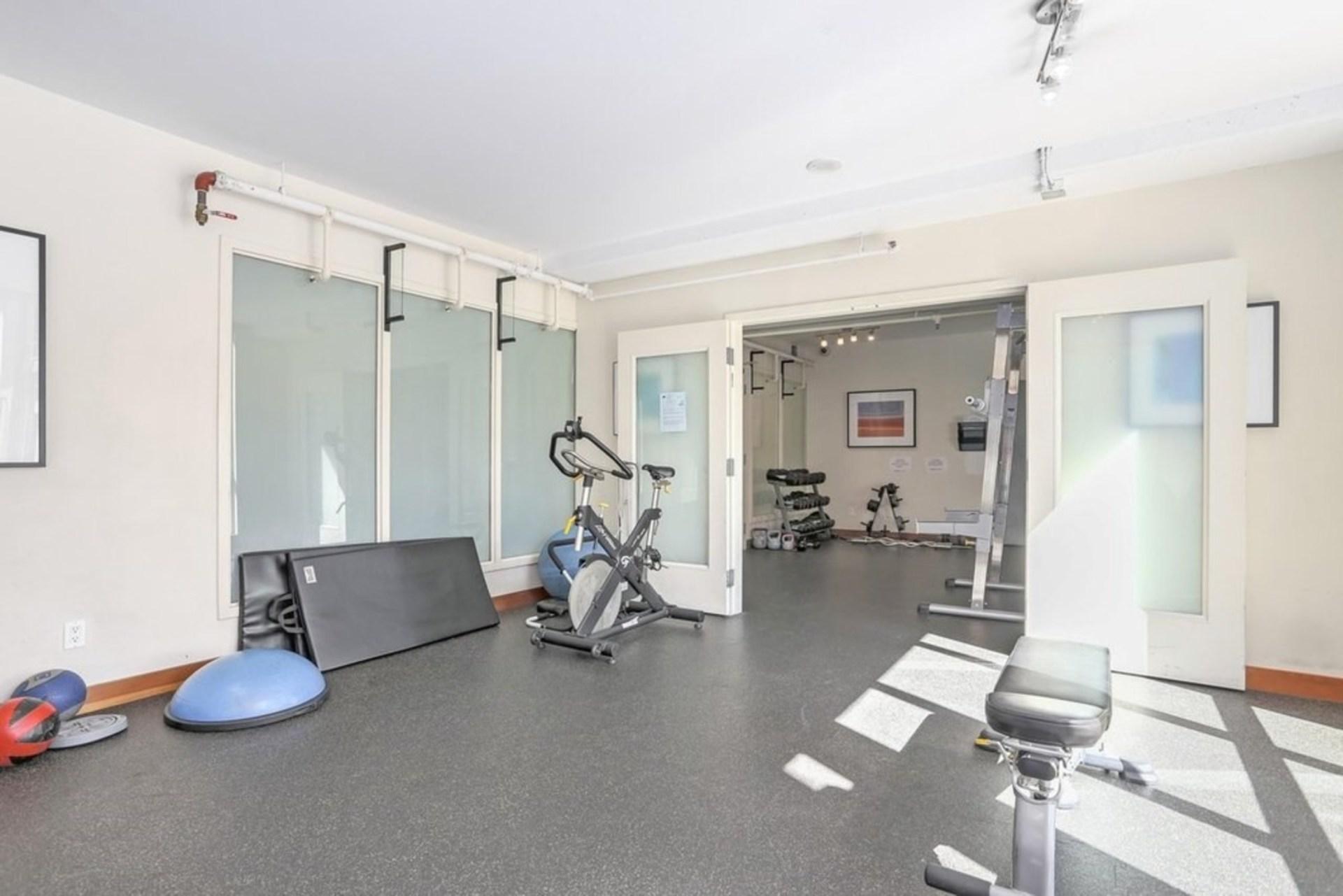 Gym Facility at 422 - 10 Renaissance Square, Quay, New Westminster