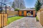 Professionally landscaped yard with uni lock stone. at 83 Morningside Avenue, High Park-Swansea, Toronto