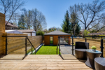Deck off Kitchen opening to yard. at 83 Morningside Avenue, High Park-Swansea, Toronto