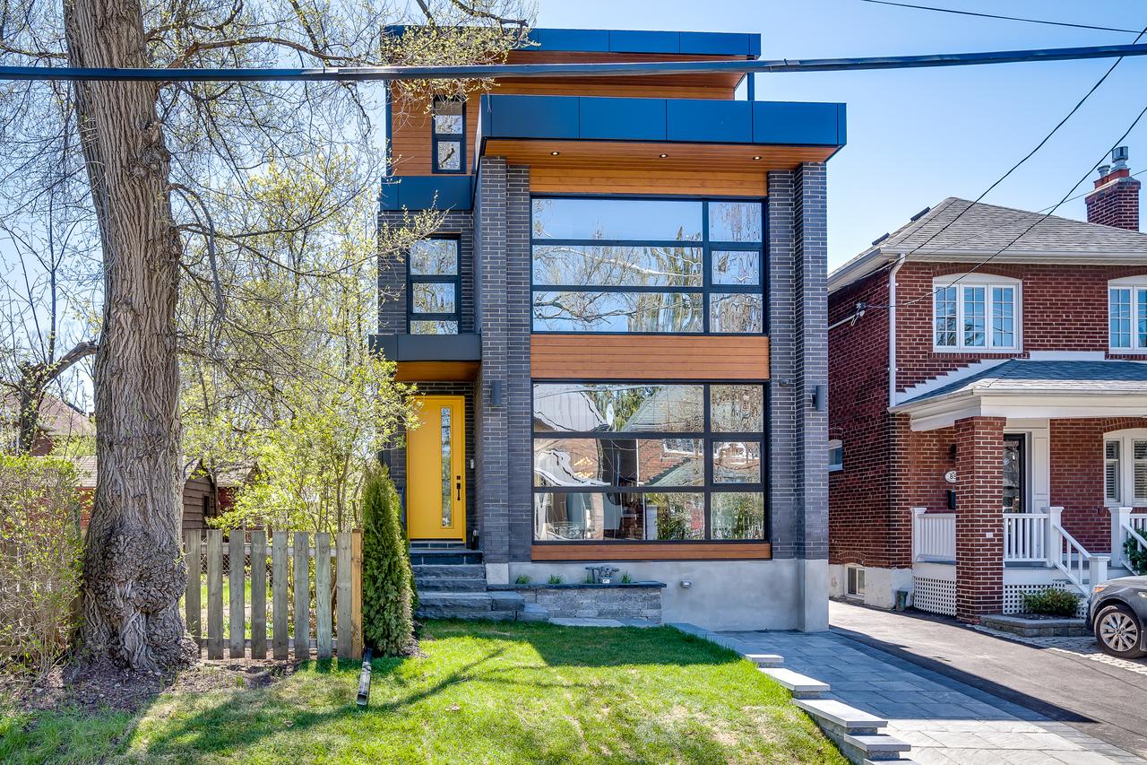 Exterior at 83 Morningside Avenue, High Park-Swansea, Toronto