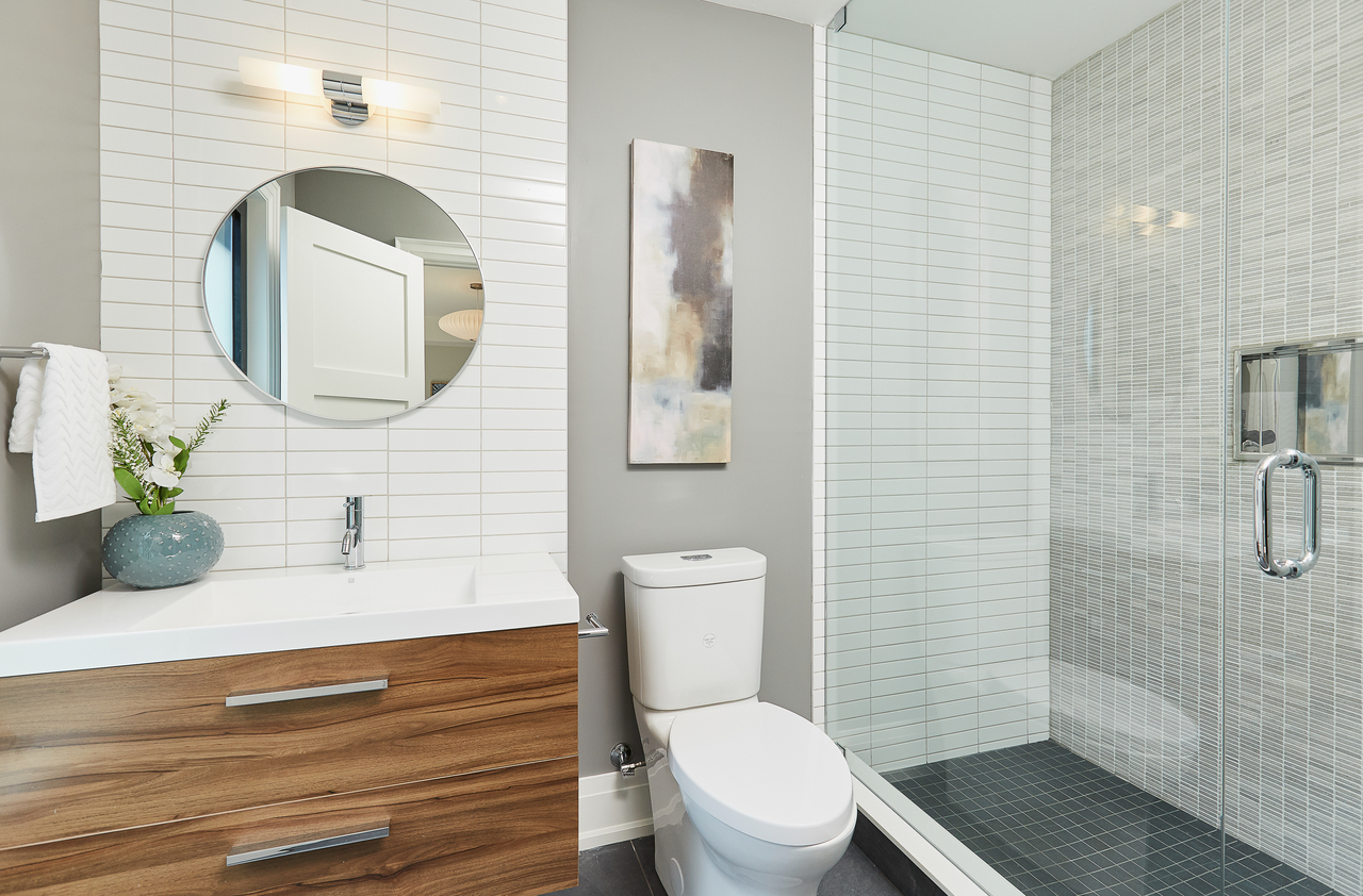 Bedroom Ensuite at 83 Morningside Avenue, High Park-Swansea, Toronto
