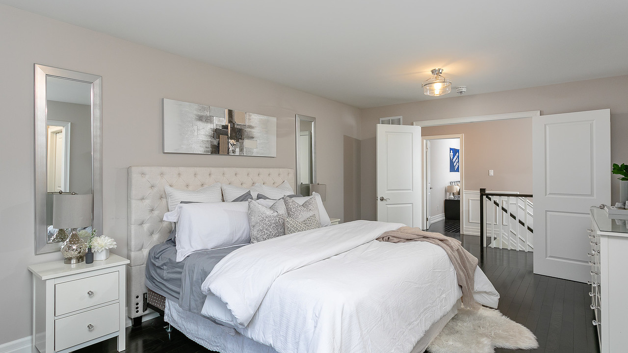 master-bedroom at 1108 Centre Street South, Whitby