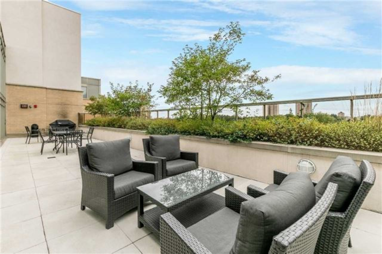 roof-top at 410 - 3520 Danforth Avenue, Birchcliffe-Cliffside, Toronto