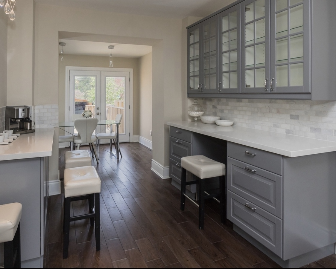 ample kitchen storage at 185 Blantyre Avenue, Birchcliffe-Cliffside, Toronto