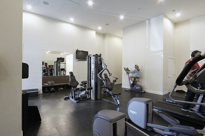Exercise room at 1101 - 1320 Chesterfield Avenue, Central Lonsdale, North Vancouver